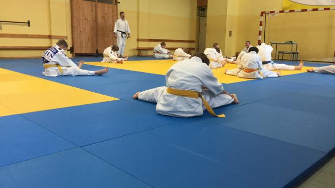 Einblick in den Trainingsalltag unserer Judokas